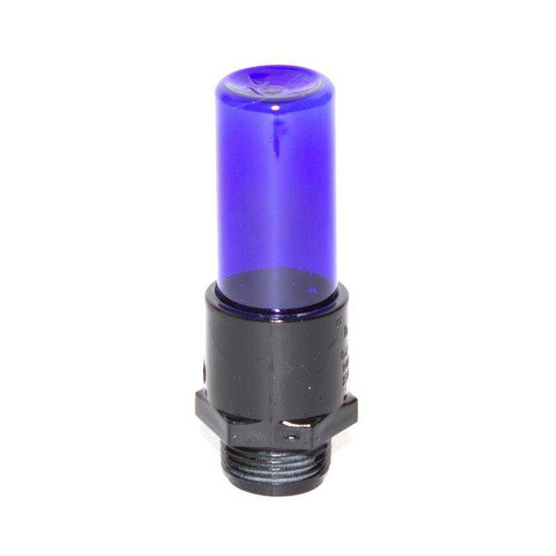 Mini blue tube