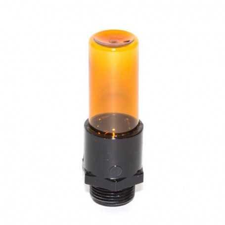 Mini tube orange effet pinceau pour Calligraphie et Light Writing