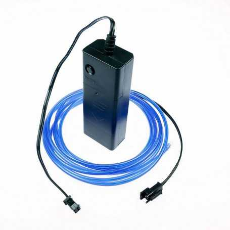 2m battery-powered blue light wire kit. Smoke and flames Light Painting effects.