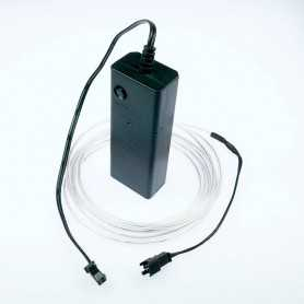 2m battery-powered white light wire kit. Smoke and flames Light Painting effects.