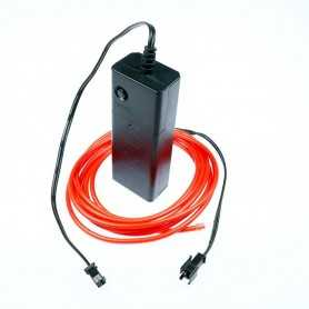 2m battery-powered red light wire kit. Smoke and flames Light Painting effects.
