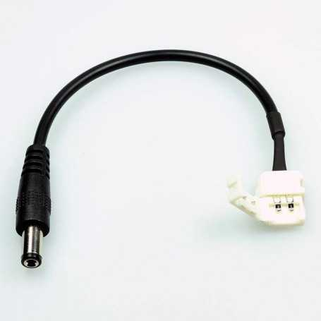17 cm fast male jack power connector for monochrome LED tape