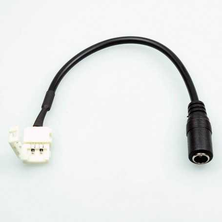 17 cm fast female jack power connector for monochrome LED tape