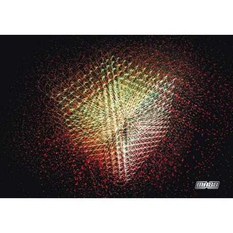 "Painting ""LightCube"" by Mass Lighter. Size: 100 cm per 70 cm."