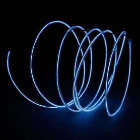 Retail 2m white luminous wire. Smoke and flames Light Painting effects.