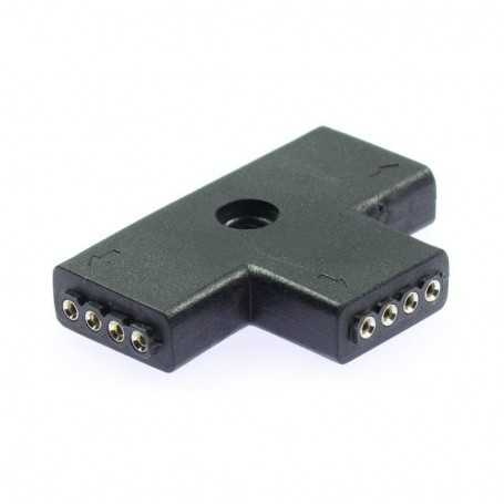 T-connector for Light Painting multicolored LED tape