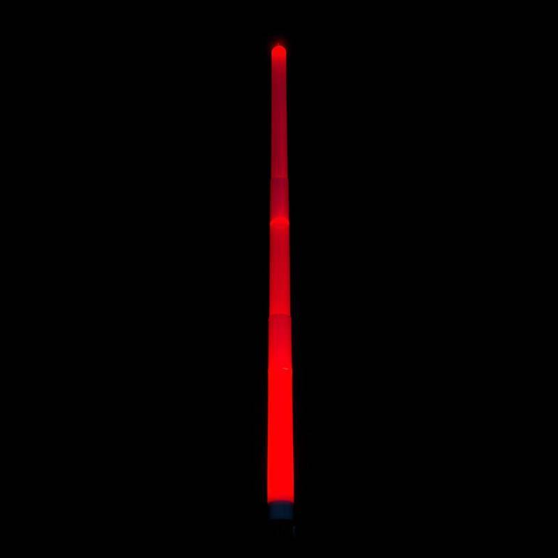 Sabre lumineux rouge