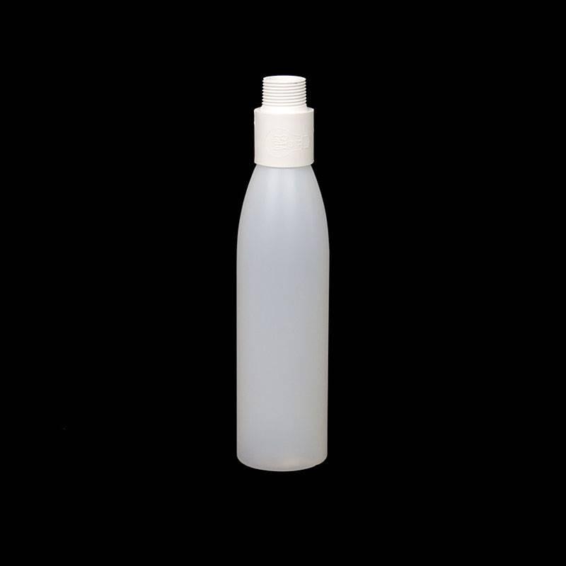 Mini opaque white bottle