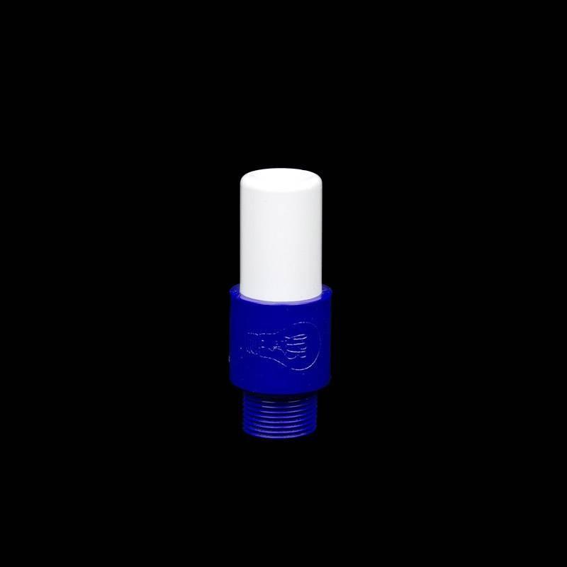 Mini blue opaque tube