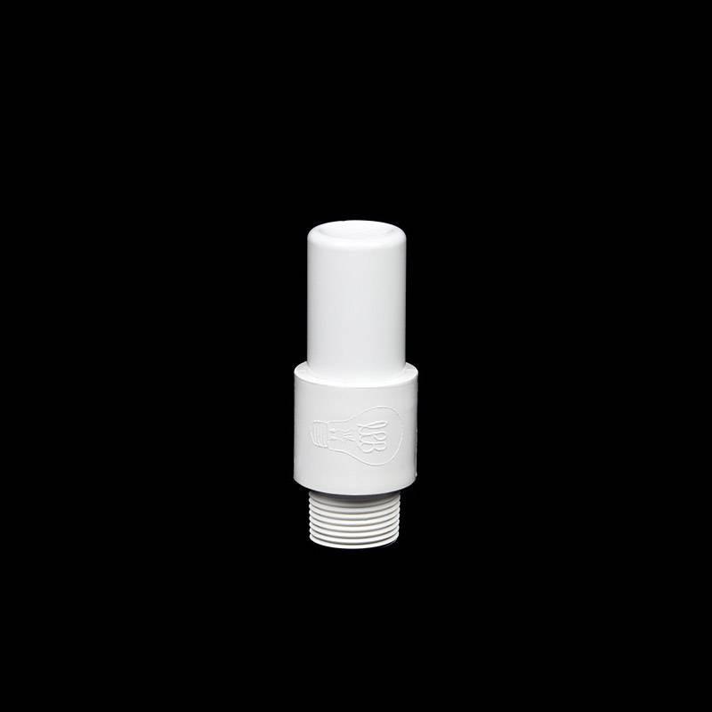 Mini tube opaque blanc