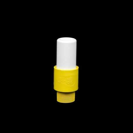 Mini tube opaque jaune pour Light graffiti et Calligraphie