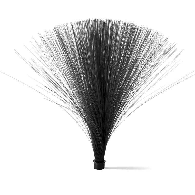 Black optical fiber