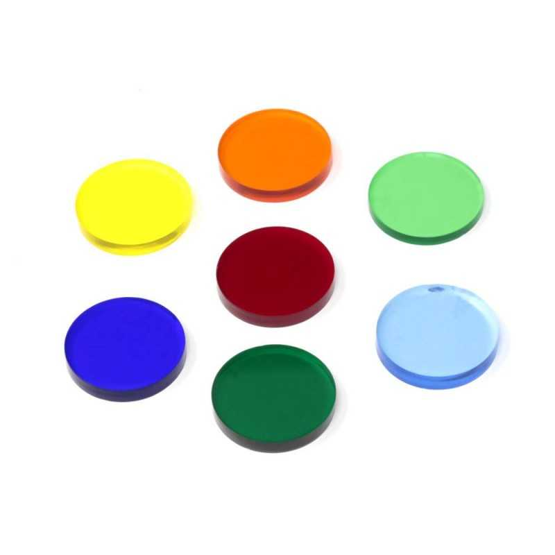 7 Round Color Filters