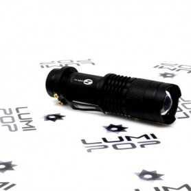 Mini LED Light Painting Torch Light 150 Lumens Black