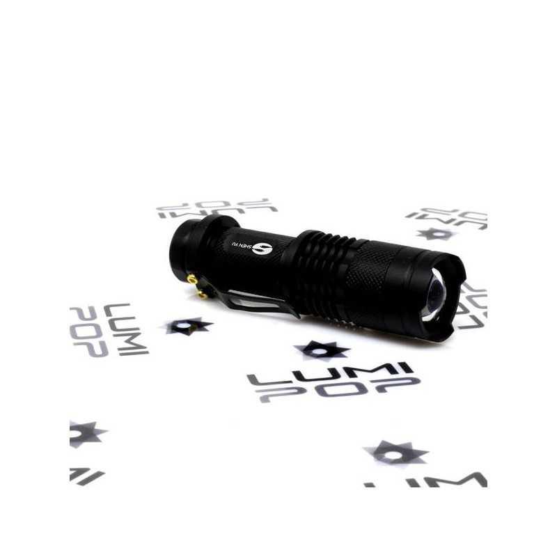Mini LED Flashlight black