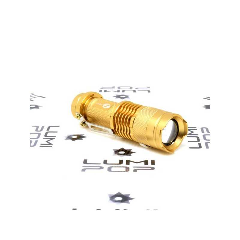 Mini LED Flashlight gold