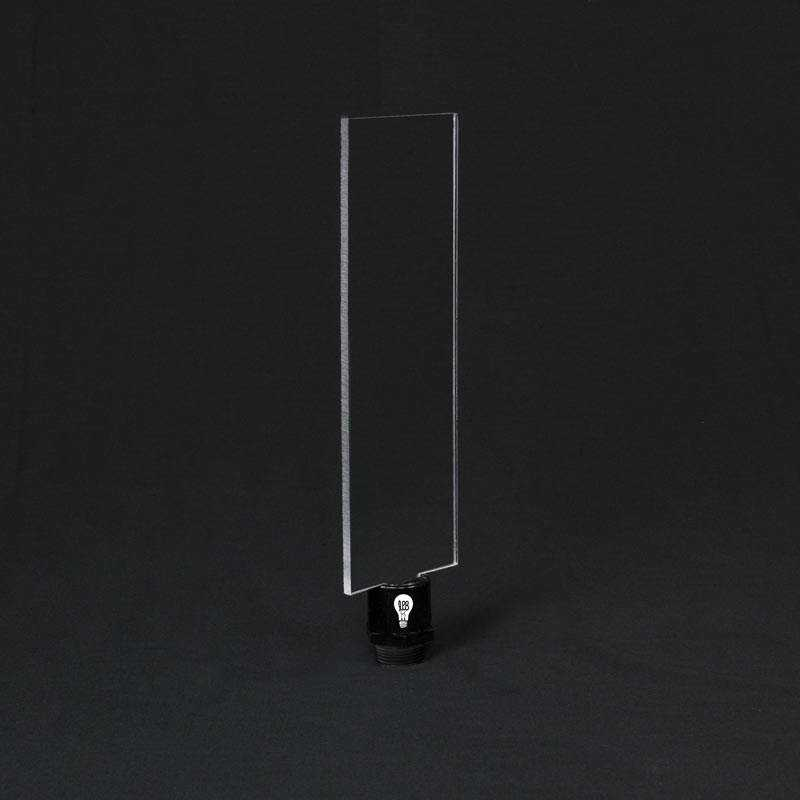 Lame plexiglass rectangle